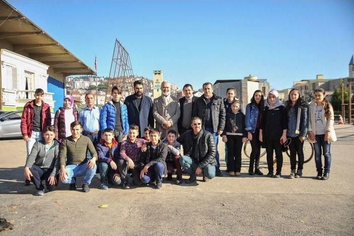 Ordulu Öğrencilerden Pahitaht Dizisine Ziyaret