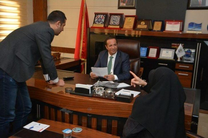 Başkan Toltar Vatandaşlarla Buluşuyor