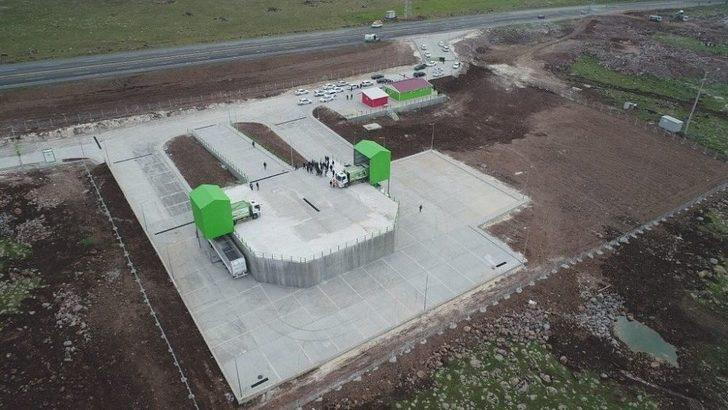 Siverek'te Katı Atık İstasyonu Hizmete Açıldı