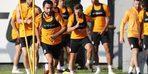 Galatasaray'da Serdar Aziz takımla çalıştı