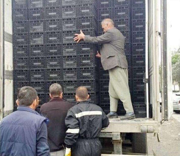 Şanlıurfa'da 40 Bin Paket Gümrük Kaçağı Sigara Ele Geçirildi