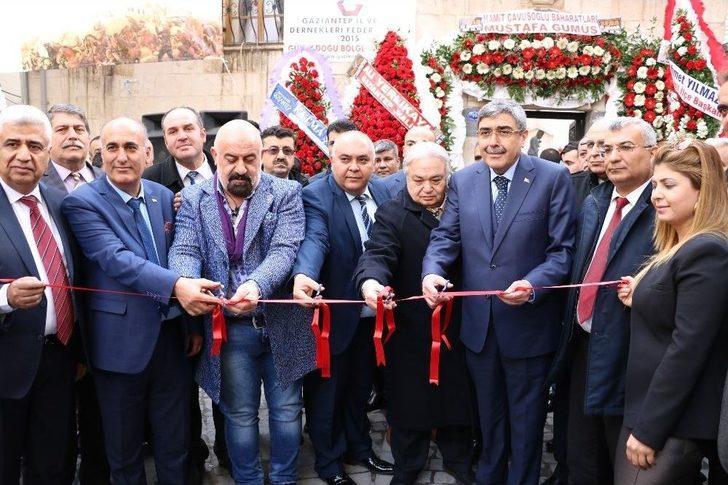 Gaziantepliler Derneklerinin Yeni Hizmet Binası Törenle Hizmete Açıldı