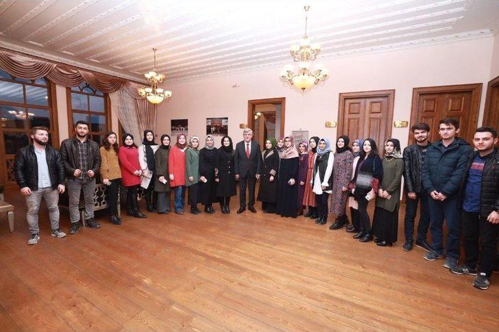 Başkan Karaosmanoğlu Kadem'i Ziyaret Etti