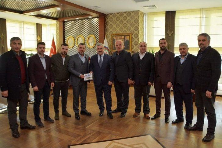 Trabzonlular Başkan Baran 'ı Ziyaret Etti