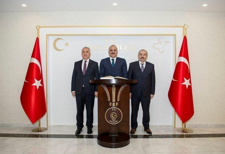 Bitlis Ve Muş Valilerinden Vali Zorluoğlu'na Ziyaret
