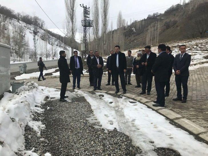 Kaymakam Özcan'dan Mahalle Ziyareti