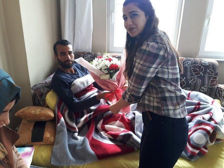 Öğrenciler Afrin Gazisi Askeri Ziyaret Etti