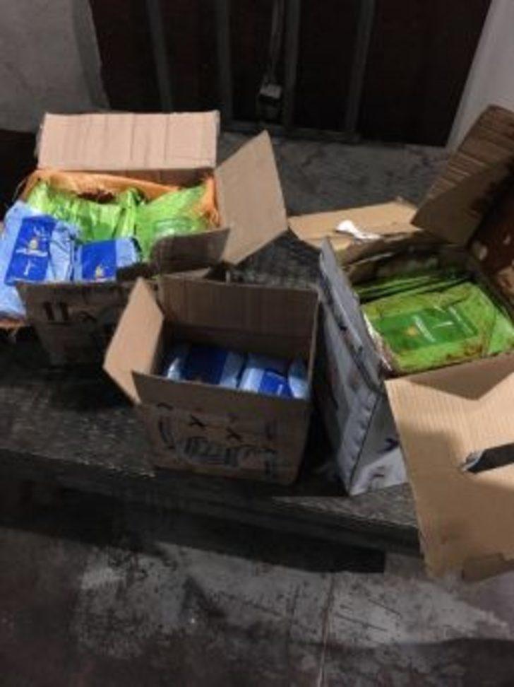 Van'da Kaçak Nargile Tütünü Ele Geçirildi