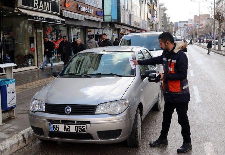 Parkomat Uygulaması Van Trafiğini Rahatlattı