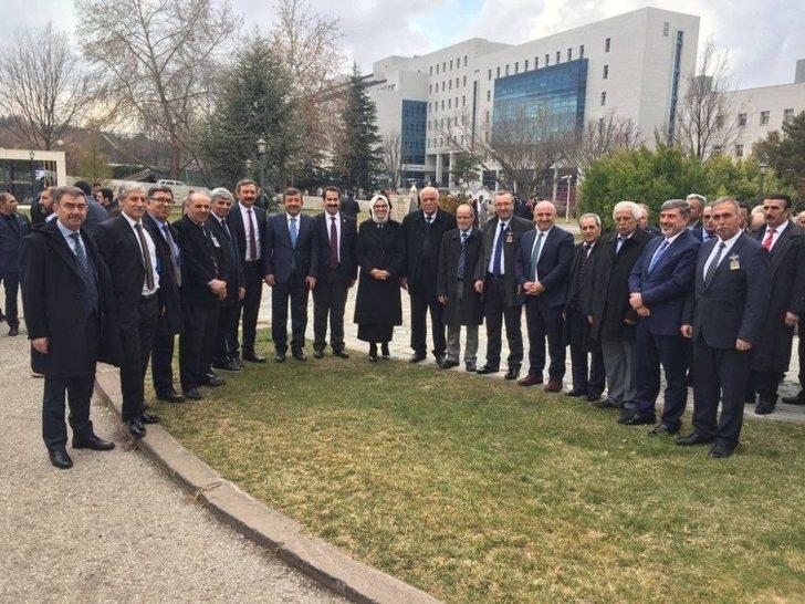 Başkan Karabacak Ve Darıcalı Muhtarlar Ankara'da