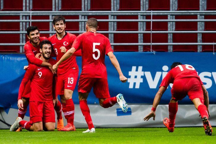 Türkiye 1 - 0 İsveç (21 Yaş Altı Avrupa Şampiyonası elemeleri)