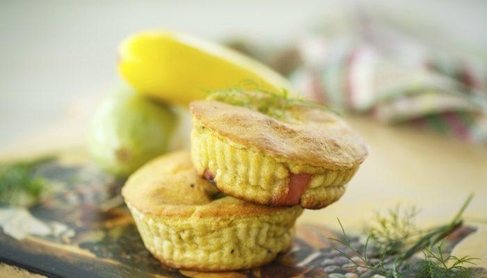 Peynirli Yeşil Muffin