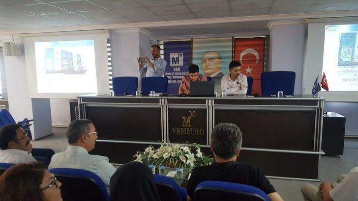 """Van Smmmo'da """"7143 Sayılı Torba Kanunu"""" Semineri"""