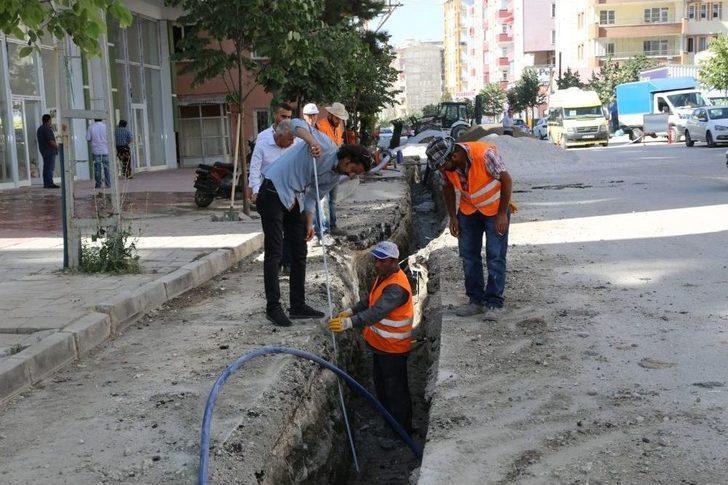 Vaski'den Su Hattı Yenileme Çalışması