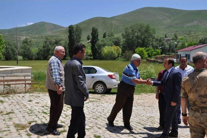 Kaymakam Erdoğan'dan Akkaya Köyü'ne Ziyaret