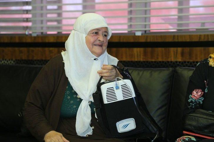 Fatma Teyze'nin Oksijen Cihazı Talebini Büyükşehir Karşıladı