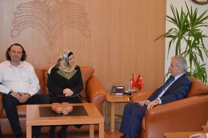 Diyanet İşleri Başkan Yardımcısı Martı'dan Vali Kamçı'ya Ziyaret