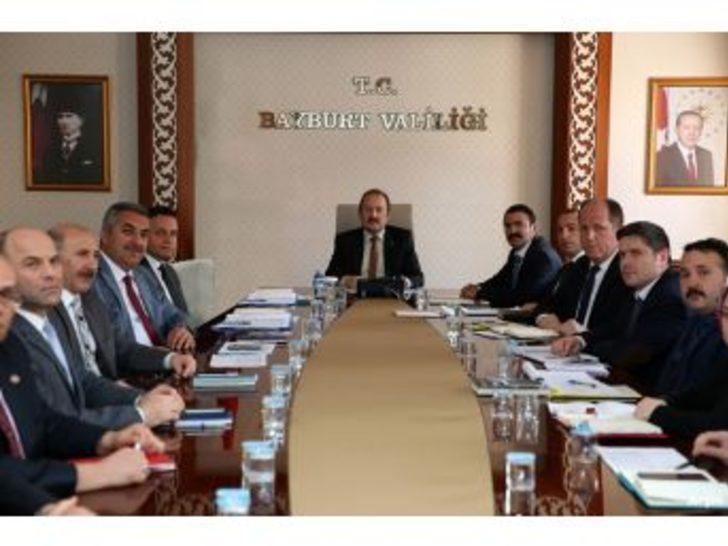 Köydes Yatırım İzleme Ve Değerlendirme Toplantısı Vali Ali Hamza Pehlivan Başkanlığında Gerçekleştirildi