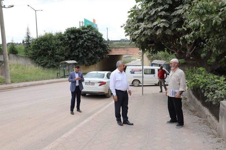 Başkan Baran, Alt Yapı Çalışmalarını Yerinde İnceledi