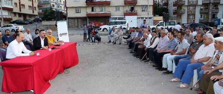 Başkan Ercan Mahalle Sakinleriyle Buluşuyor