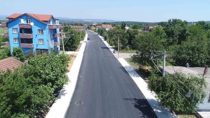 Büyükşehir'den Kartepe İmar Caddesi'nde Yol Çalışması