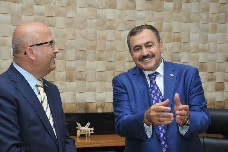 Başkan Çoban, Bakan Eroğlu'nun Görevinin Sone Ermesini Değerlendirdi: