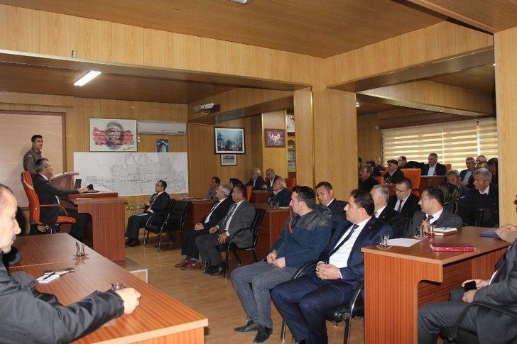 Bucak'ta Güvenlik Toplantısı