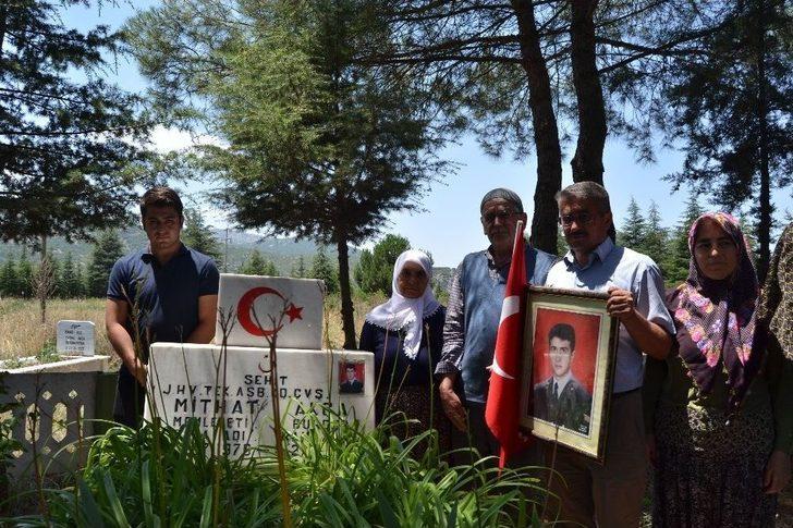 Burdurlu Şehidin Ailesi, Çocuklarının Katilinin 20 Yıl Sonra Öldürülmesiyle Teselli Buldu