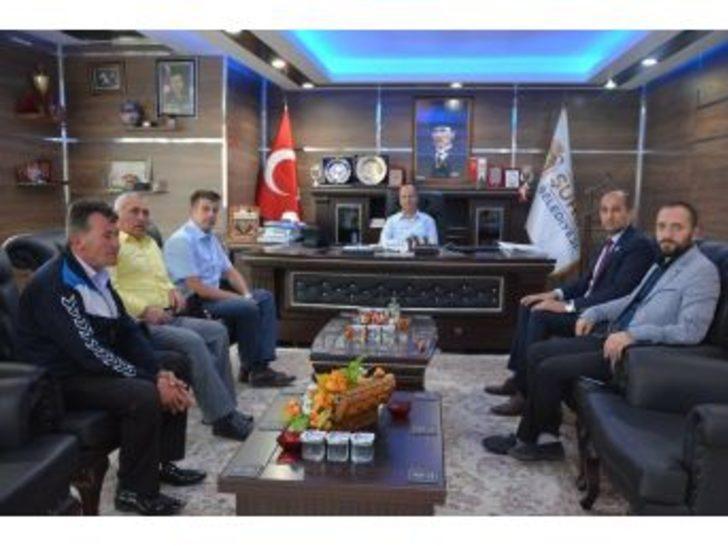 Başkan Kumartaşlı'dan Başkan Bozkurt'a Ziyaret