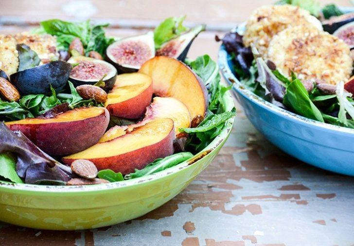İncirli Bademli Salata