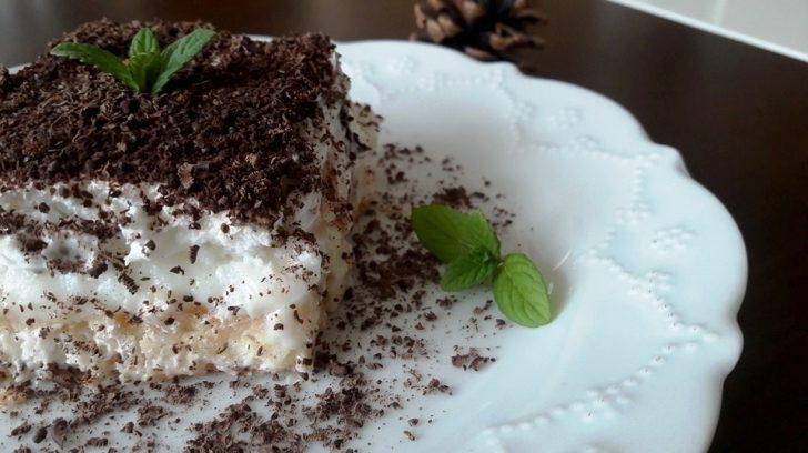 Muzlu Sakız Pastası