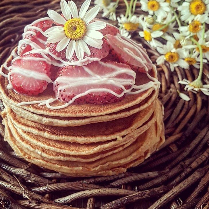 Kepekli Pancake Tarifi