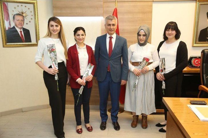 Başkan Arıcan'dan 8 Mart Kutlaması