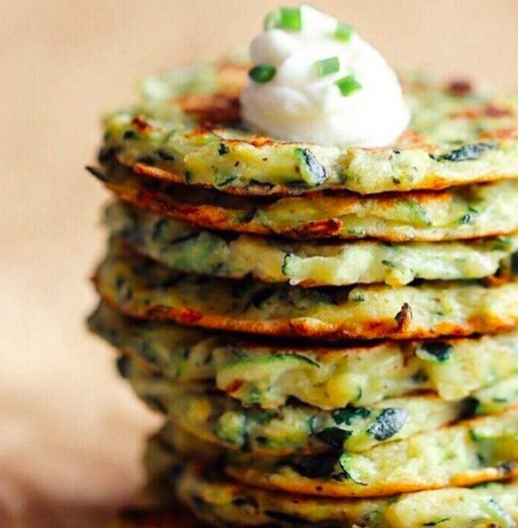 Kahvaltılık Kabaklı Pancake