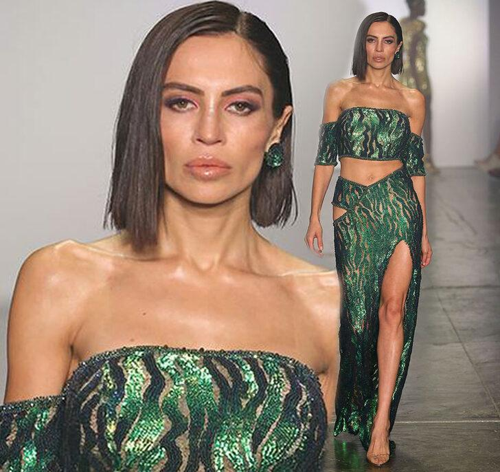 New York Fashion Week'te bir Türk! 3 haftada 6 kilo verdi