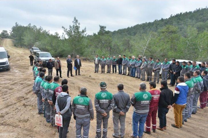Orman Bölgede İş Makineleri Operatörlerine Eğitim
