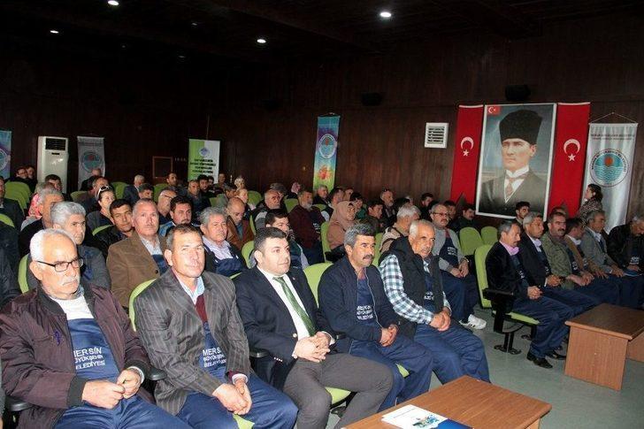 Mersin'de Çiftçiler Eğitiliyor