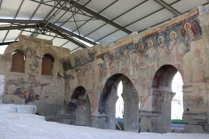 Andaval Kilisesi Turizme Kazandırılıyor