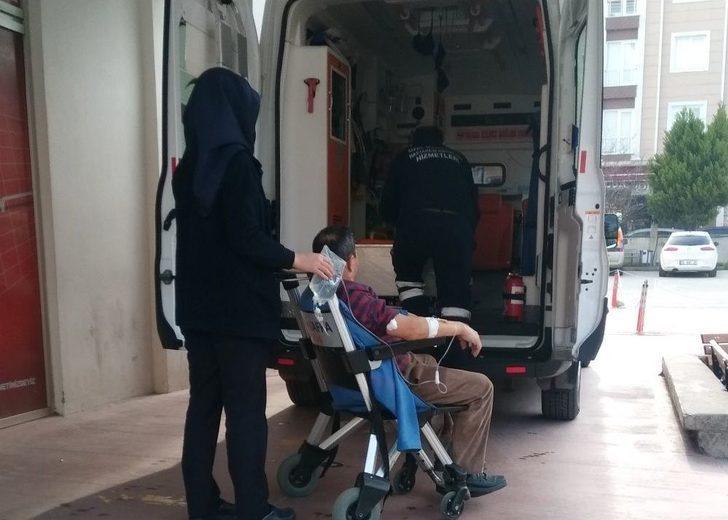 Elini Halı Yıkama Makinesine Kaptıran İşçi Yaralandı