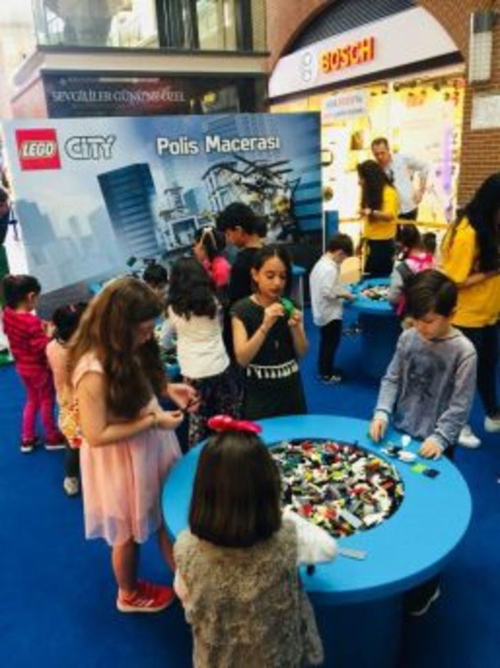 Forum Mersin'in Minik Misafirleri Lego City'de Eğlendi