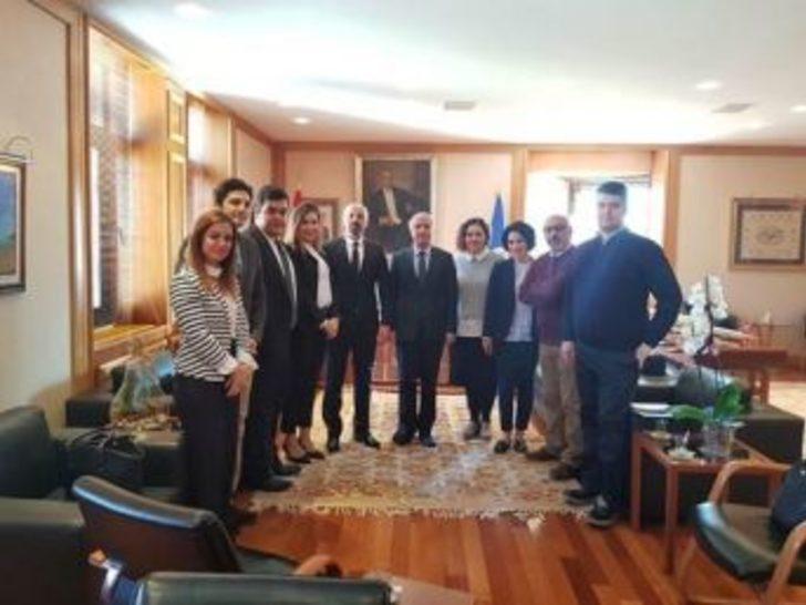 Batı Trakya Türkleri'nden Anadolu Üniversitesine Ziyaret