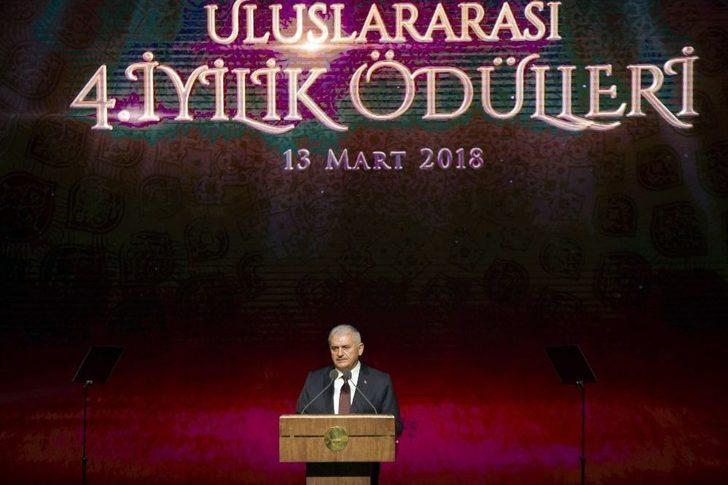 Başbakan Yıldırım, Uluslararası İyilik Ödülleri Töreninde Konuştu