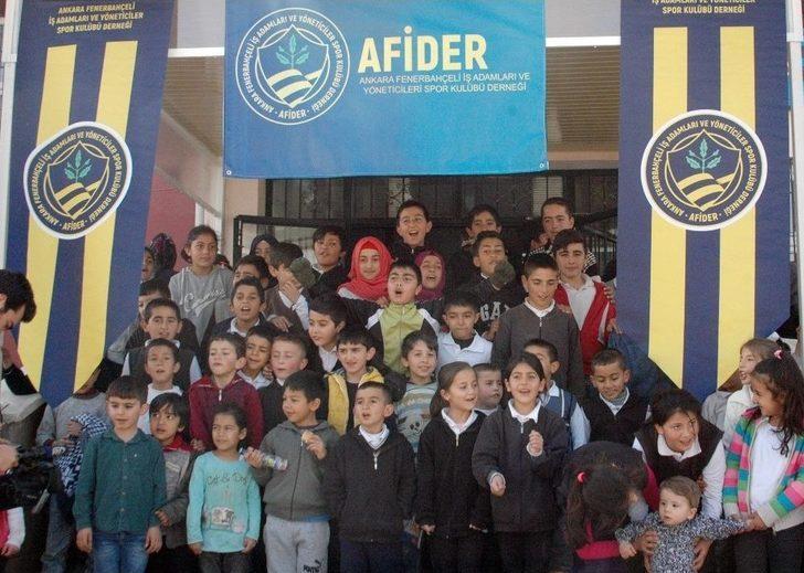 Afider'den Dezavantajlı Bölgelerde Eğitime Destek Projesi