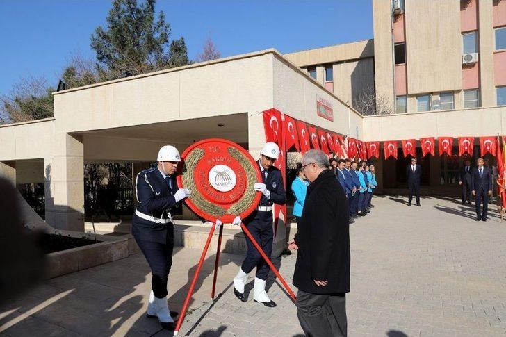 Gazi Mustafa Kemal Atatürk'ün Mardin'e Gelişinin 102. Yılı Törenle Kutlandı