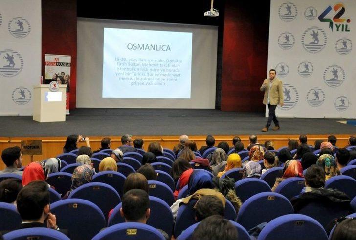 Ünlü Tv Spikeri Samsun'da Beden Dili Eğitimi Verdi