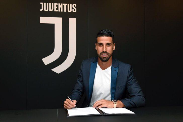 Sami Khedira Juventus ile sözleşmesini 2021 yılına kadar uzattı