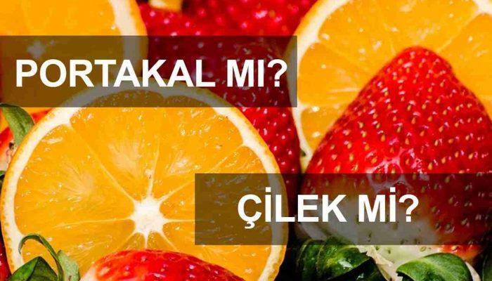 Portakaldan Çok Daha Fazla C Vitamini İçeren 10 Yiyecek