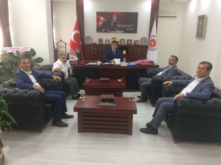 Borsa Yönetiminden Başsavcı Ağca'ya Ziyaret