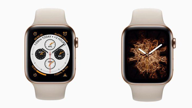 Apple Watch Series 4 duyuruldu