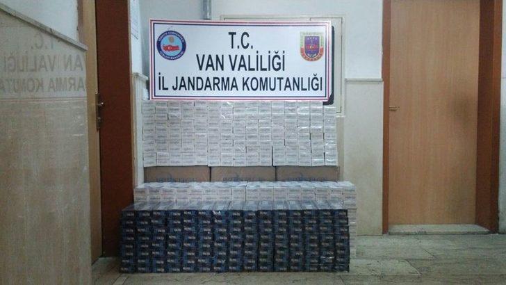 Van'da 18 Bin 535 Paket Kaçak Sigara Ele Geçirildi